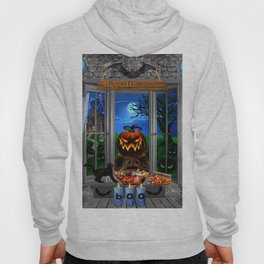 Halloween Pumpkin Night Stalker Hoody
