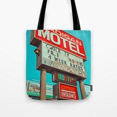 Retro signage Tote Bag