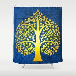 Bodhi Tree0102 Shower Curtain