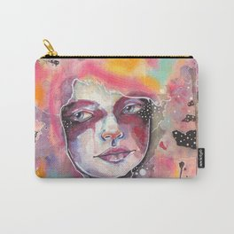 Deep space watercolor Carry-All Pouch
