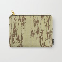 Weathered Wood Paneling 01 Carry-All Pouch