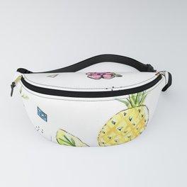 Pineapple Paradise Pattern Fanny Pack