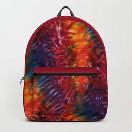 Vibrant Hippy Tye Dye Backpack