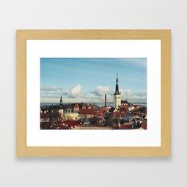 Tallinn, Estonia Framed Art Print