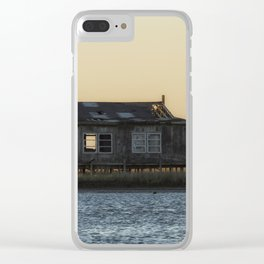 Waterfront Property Clear iPhone Case