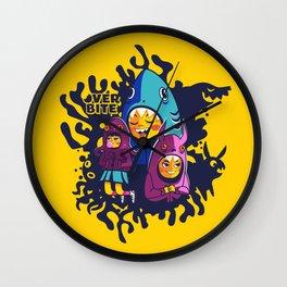 Overbite Munchkins Wall Clock