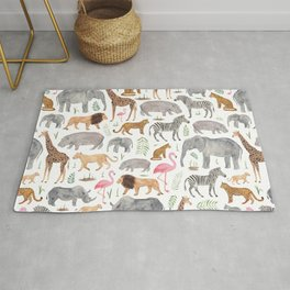Safari Animals Rug