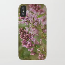 Lilacs iPhone Case