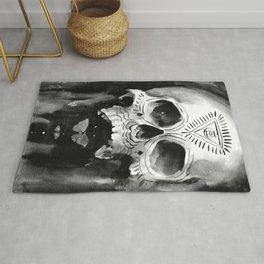 Shamanic Skull Rug
