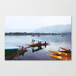 Cambodia Rivers Canvas Print