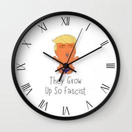 They Grow Up So Fascist Wall Clock