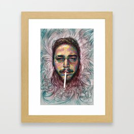 Malone Framed Art Print