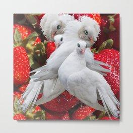 Love and Dove Metal Print
