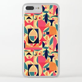 tango in the peach tree Clear iPhone Case