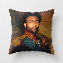 Childish Gambino Classical Regal General Painting Throw Pillow