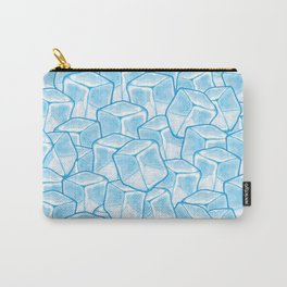 ice cubes background Carry-All Pouch