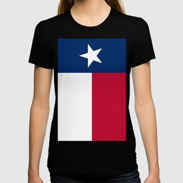 State flag of Texas, official banner orientation T-shirt