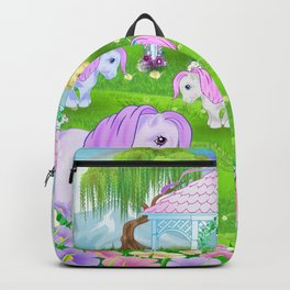 g1 my little pony stylized Collector ponies Backpack