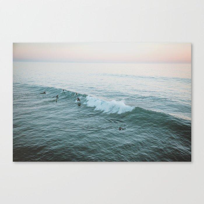 lets surf v Leinwanddruck