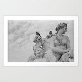 Sculpture Art Print