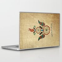 dream catcher Laptop & iPad Skins featuring DREAM CATCHER by Heaven7