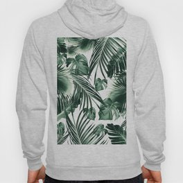 Tropical Jungle Leaves Dream #7 #tropical #decor #art #society6 Hoody