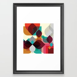 Geometric Abstraction Framed Art Print