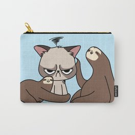 A Hug a Day Keeps the Grumpiness Away Carry-All Pouch