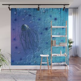 Dwindling Wave Wall Mural