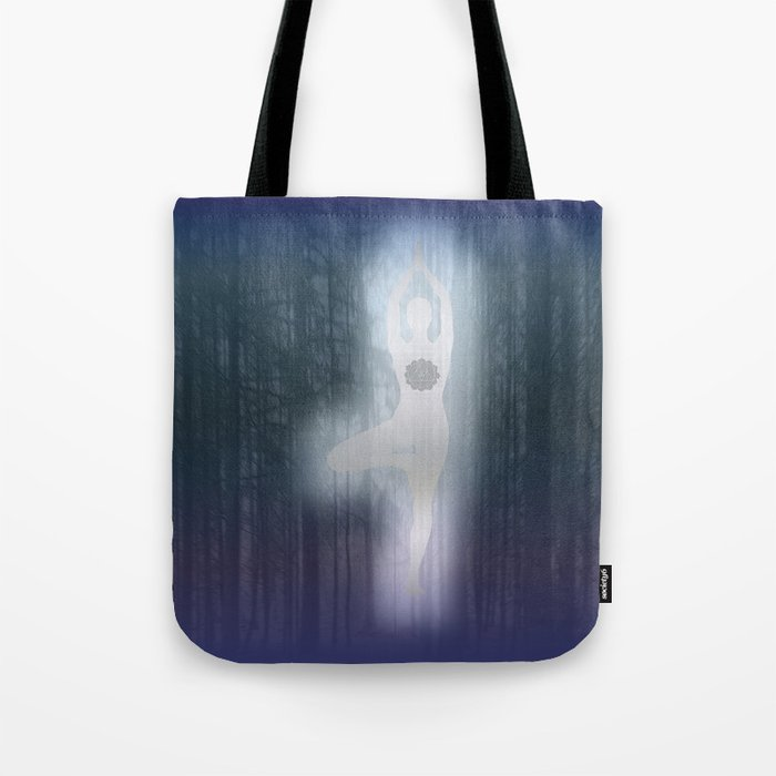 Forest Yoga Tote Bag