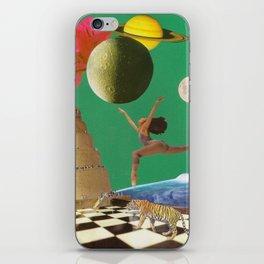 La danza espacial iPhone Skin