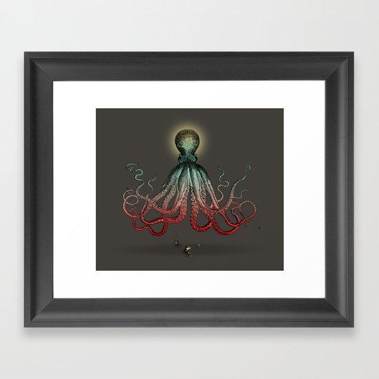 Octoverlord Framed Art Print