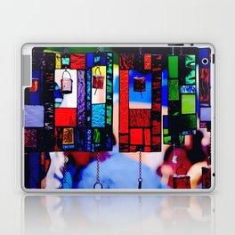 Glass Wind Chimes Laptop & iPad Skin