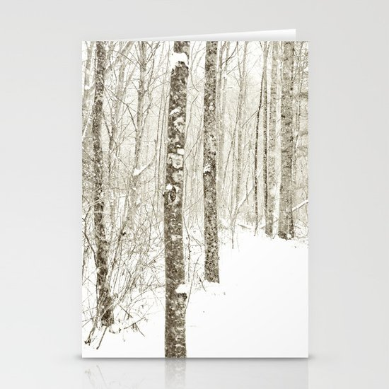 Wintry Mix Stationery Cards