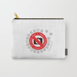 No Photos, please Carry-All Pouch