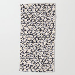 cats 218 Beach Towel