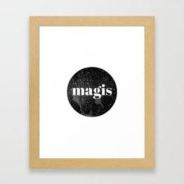 Magis. Framed Art Print