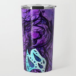 Elephant Bath Color Travel Mug