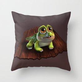 baby croco Throw Pillow