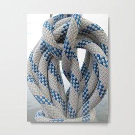 twisted rope Metal Print