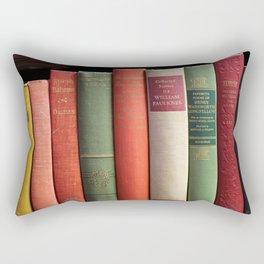 Old Books Rectangular Pillow