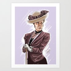 Maggie Smith Art Print