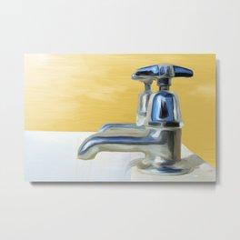 Bathtub Painting Metal Print