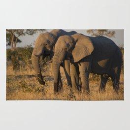 Elephant Pair Rug