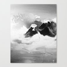 Ah Create and Destroy in Shadow Canvas Print