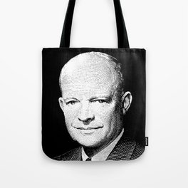President Dwight Eisenhower Graphic Tote Bag