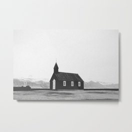 CHURCH II Metal Print