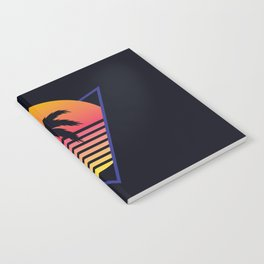Retrowave sunset 3 / 80s - 90s Retro Notebook