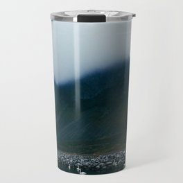 swan lake in iceland Travel Mug
