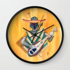 Boba Bandito Wall Clock